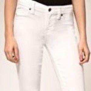 Genetic, white jean bootcut